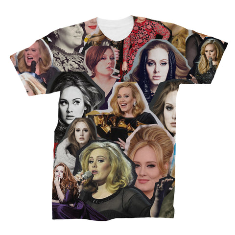 Adele Photo Collage T-shirt