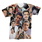 Austin Mahone Photo Collage T shirt