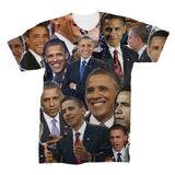 Barack Obama Photo Collage Shirt   subliworks.myshopify.com