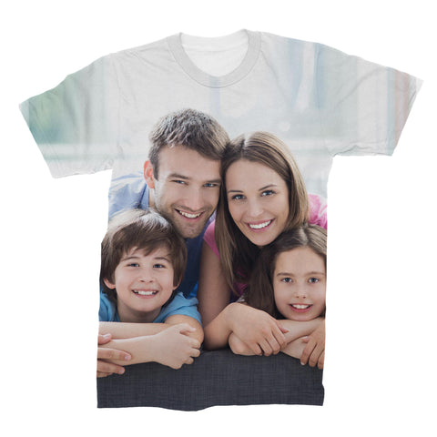 Custom All Over Print Photo T Shirt   subliworks.myshopify.com