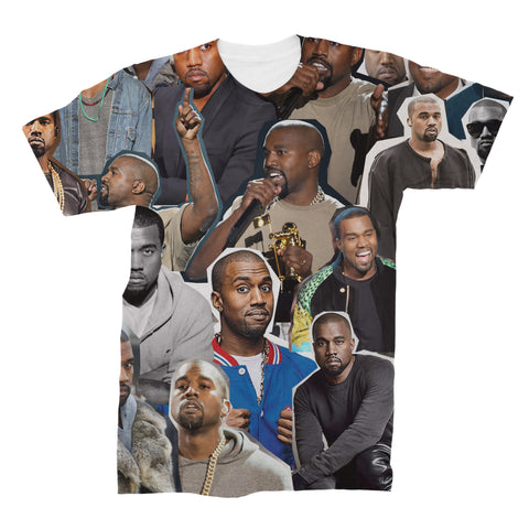 Kanye West Collage Shirt