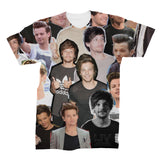 Louis Tomlinson Photo Collage Shirt   One Direction