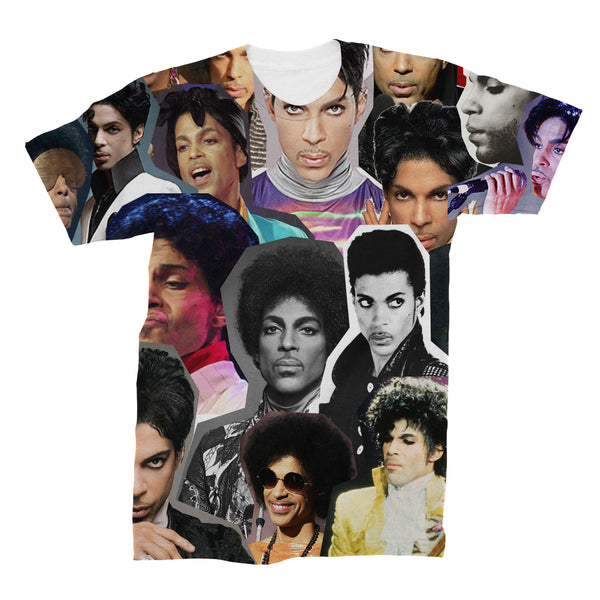 Prince Photo Collage T shirt