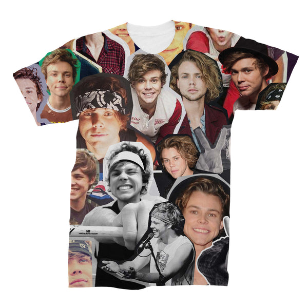 Ashton Irwin Photo Collage T Shirt