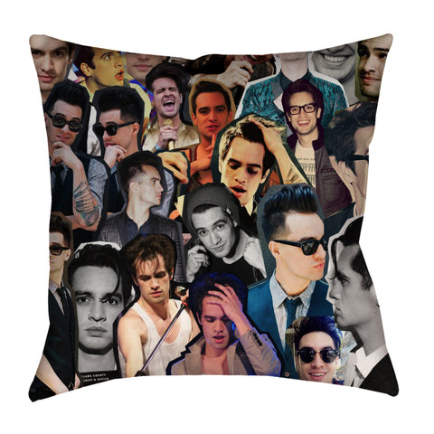 Brendon Urie Photo Collage Pillow