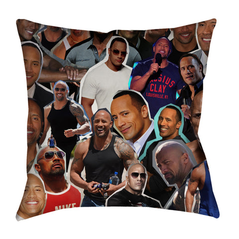 Dwayne Johnson Pillow