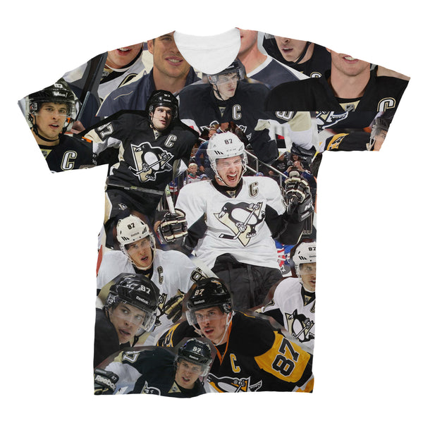 Sidney Crosby Collage T Shirt