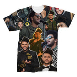 The Weeknd Photo Collage T shirt