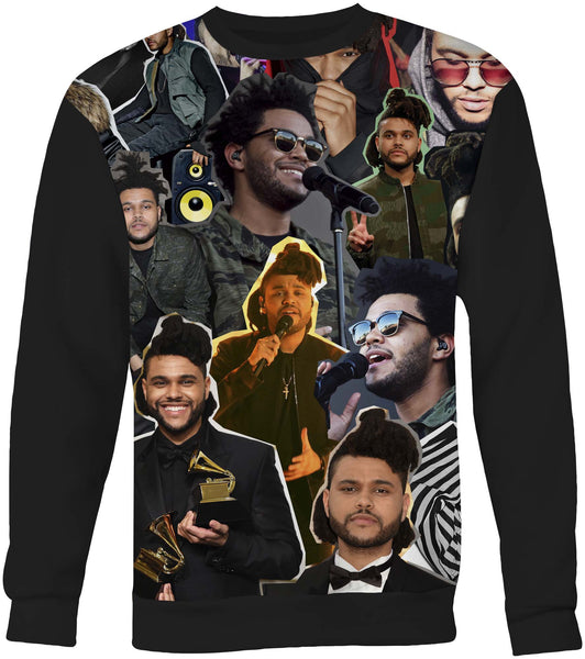 The Weeknd Collage Sweater Sweatshirt