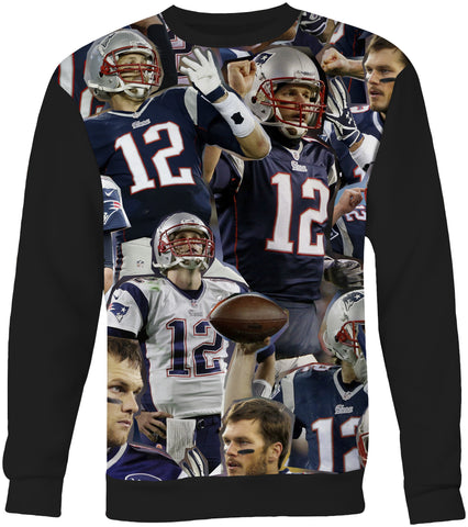 Tom Brady   New England Patriots sweatshirt