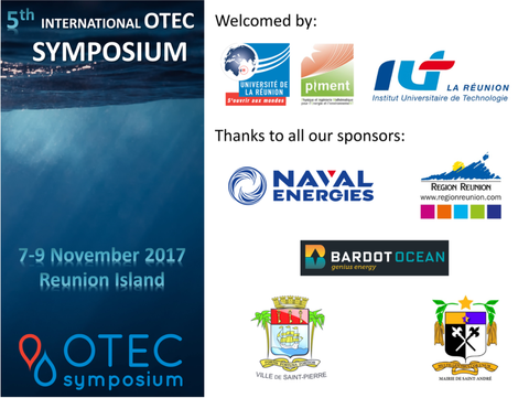 Presentations by BARDOT Ocean at the 5th OTEC Symposium