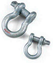 "Warn 3/4"" D- Shackle - GNAR Offroad Depot"