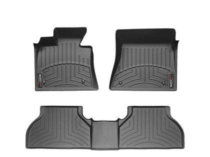 WeatherTech 11-14 Ford F-150 Raptor Front and Rear Floorliners - Black - GNAR Offroad Depot - 1