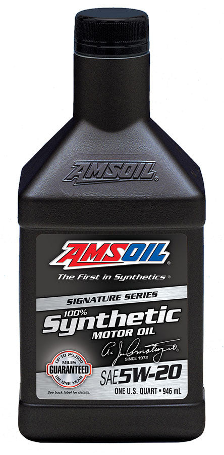 Amsoil Signature Series 5W-20 Synthetic Motor Oil - GNAR Offroad Depot