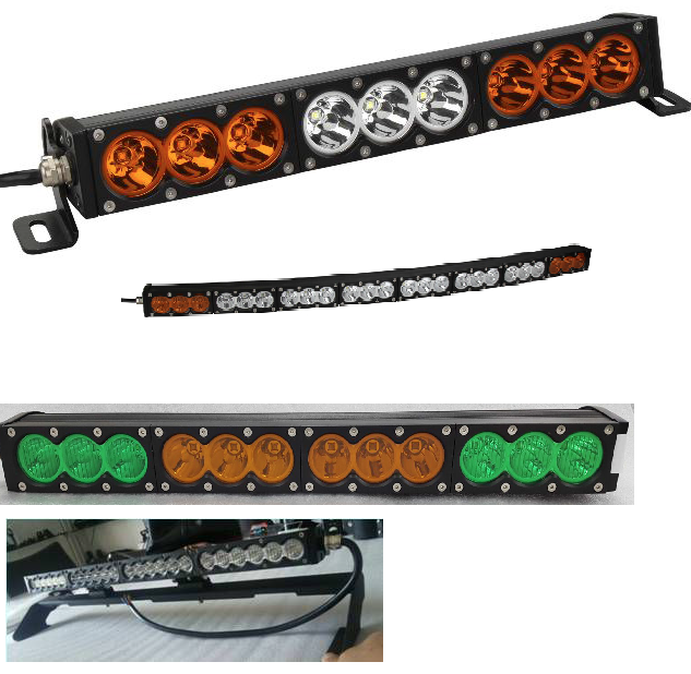 GNAR Offroad M16 Series Slim Single Row 10W LED Light Bar