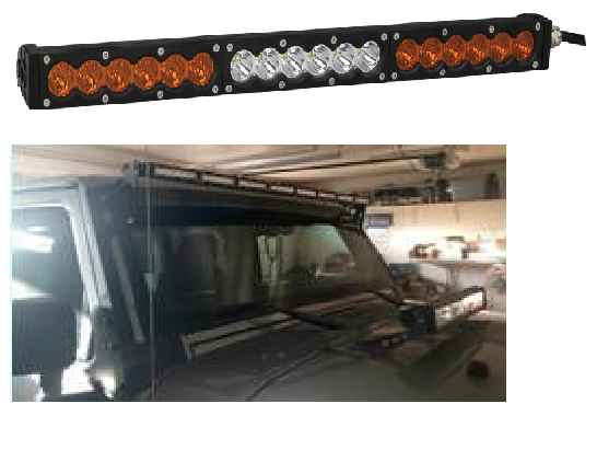 GNAR Offroad M17 Series Slim Single Row Light Bar