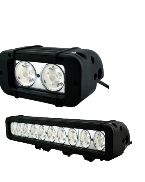 GNAR Offroad M9 Series Single Row 10W LED Light Bar