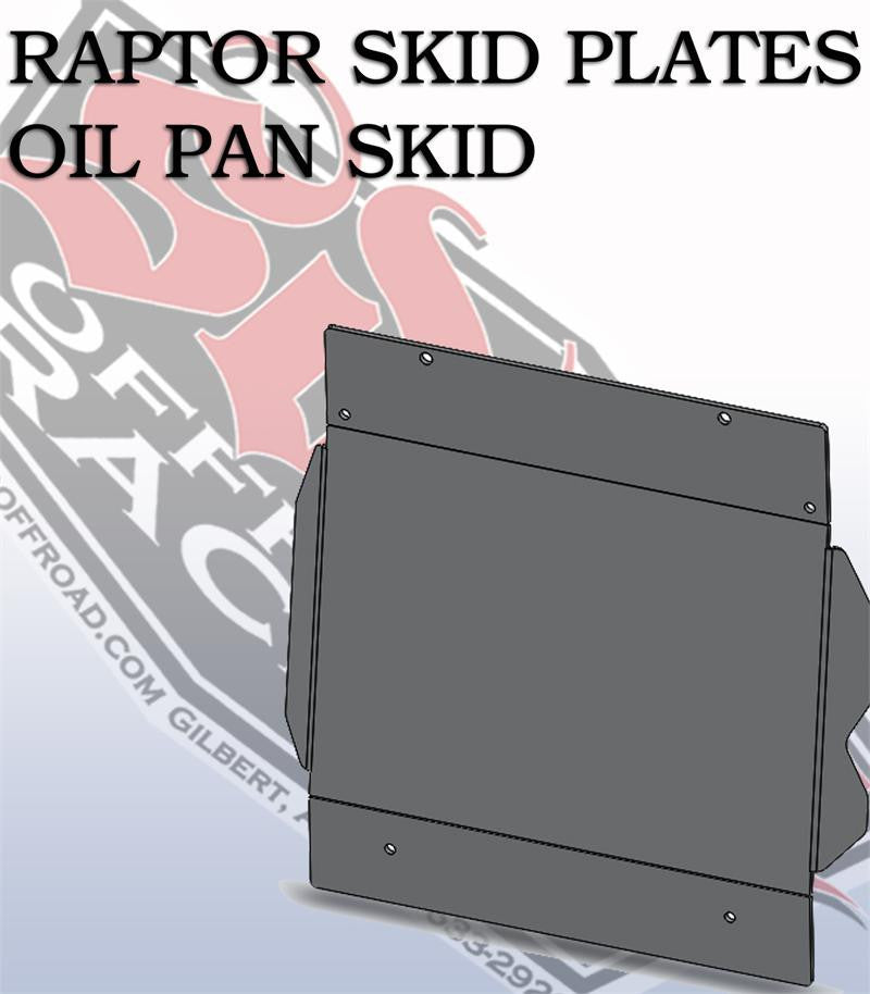 SDHQ Ford Raptor Oil Pan Skid Plate