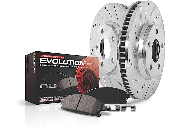 POWERSTOP FRONT & REAR DISC BRAKE PAD AND ROTOR KIT FORD RAPTOR - GNAR Offroad Depot