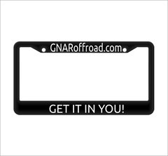 GNAR license plate holder - GNAR Offroad Depot