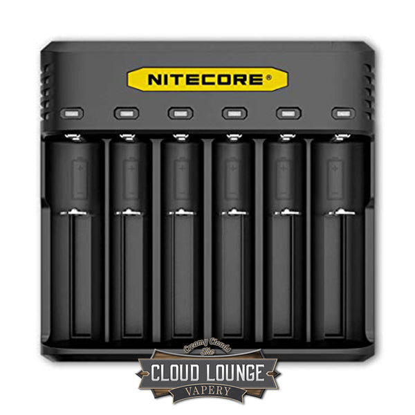 Nitecore Q6 | 6 slot Battery Charger