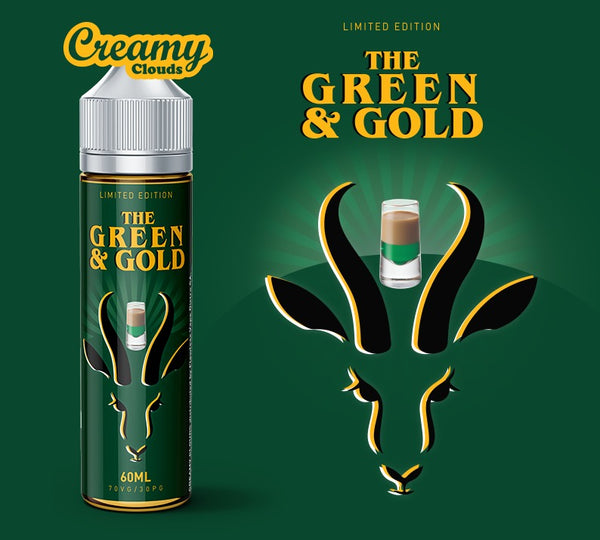 Creamy Clouds | The Green and Gold