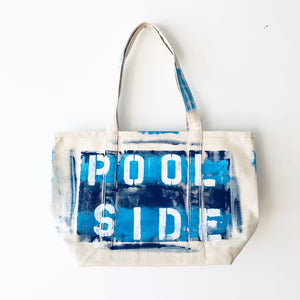 POOLSIDE CANVAS BAG