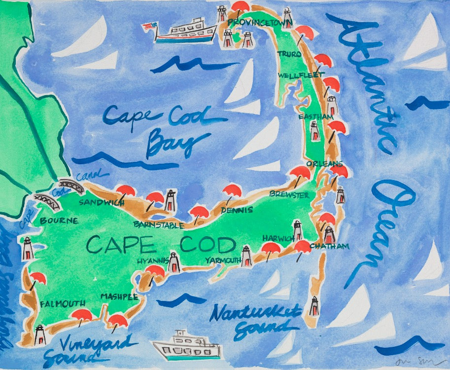 Cape Cod, MA - Limited Edition Print