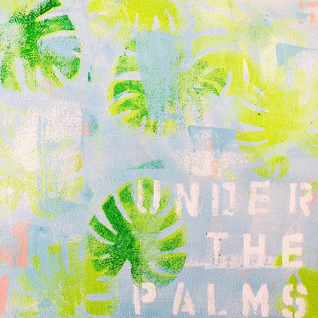 Under the Palms No. 4