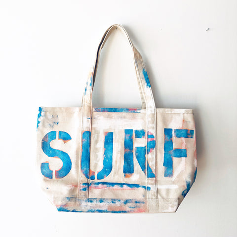 SURF CANVAS BAG