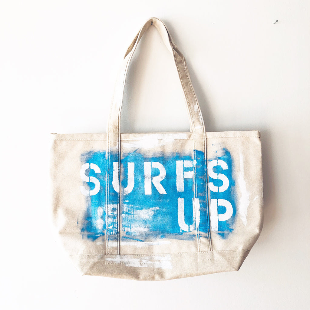 SURFS UP CANVAS BAG