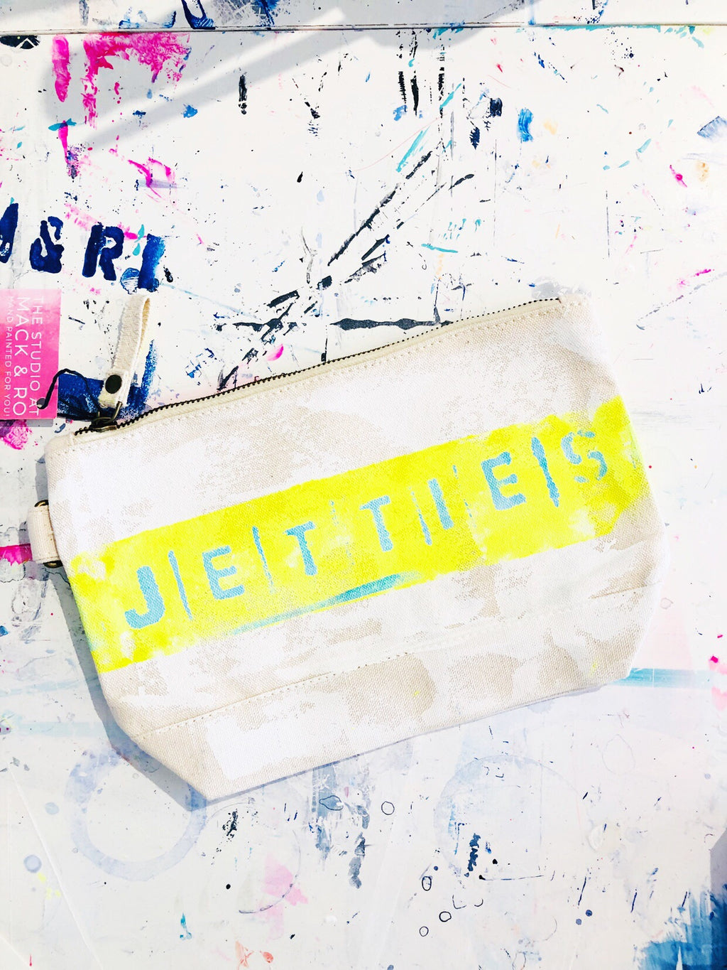JETTIES CANVAS CLUTCH