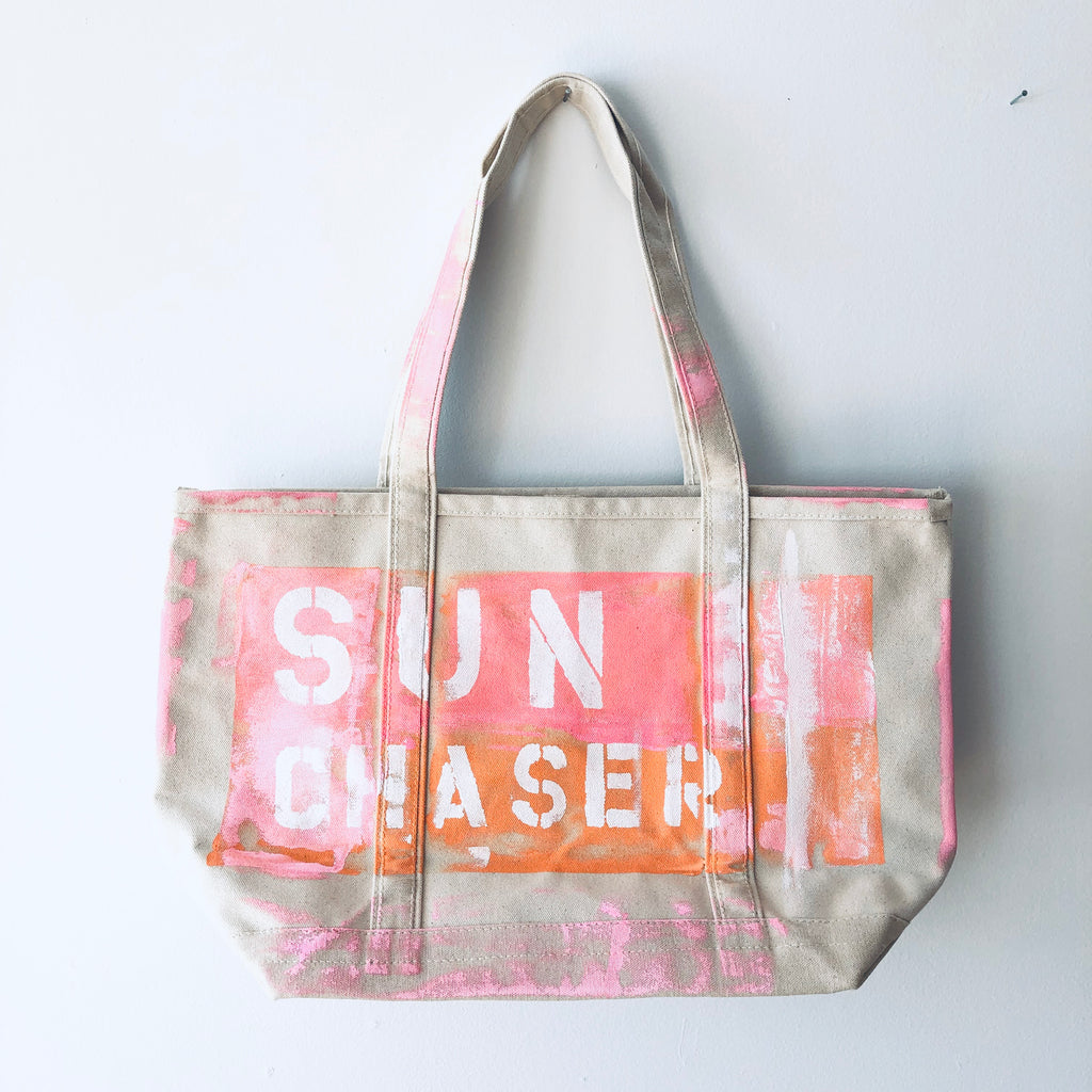 SUN CHASER CANVAS BAG