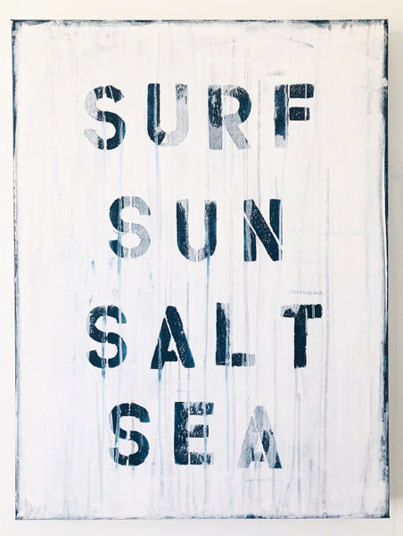 SURF, SUN, SALT, SEA