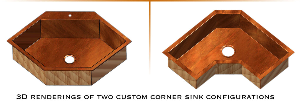 copper sink 3d drawings