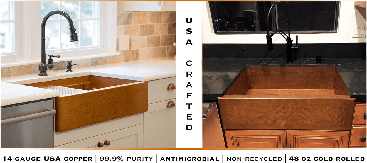 kitchen sink copper luxuryfurnituredesign sinks gorgeous