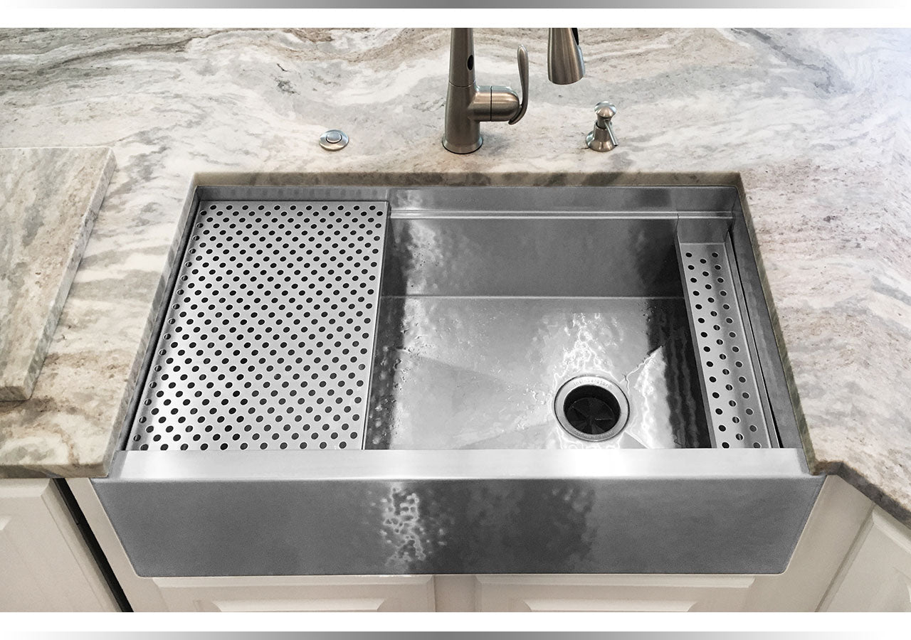 Havens metal the most advanced metal products in the world under mount stainless steel kitchen sinks made in usa in smooth and hammered workwithnaturefo