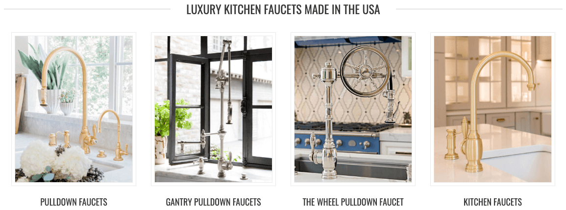 Waterstone Kitchen Faucets Usa Made Havens Luxury Metals