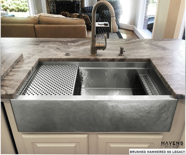 Undermount stainless steel kitchen sink images.