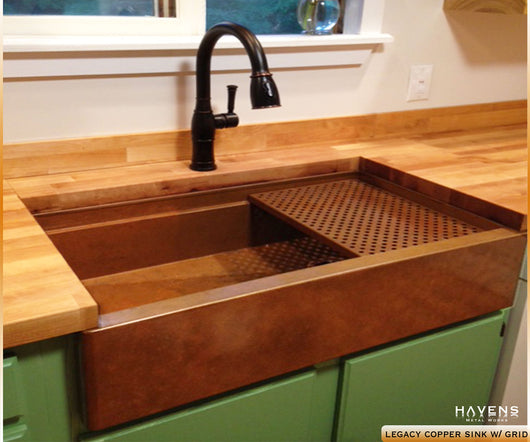 Custom Copper Sinks Made In Usa Havens Metal