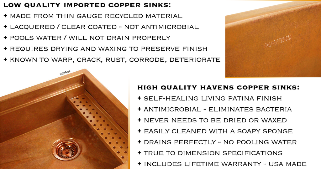 How To Care For A Copper Sink