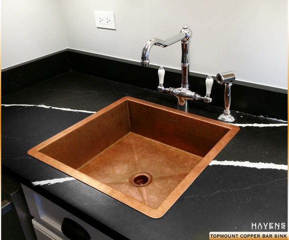Custom Copper Sinks Made in USA - Havens Metal