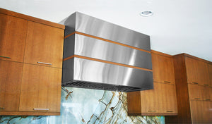 Custom range hoods: copper & stainless steel. Handcrafted in the USA by Havens Metal.