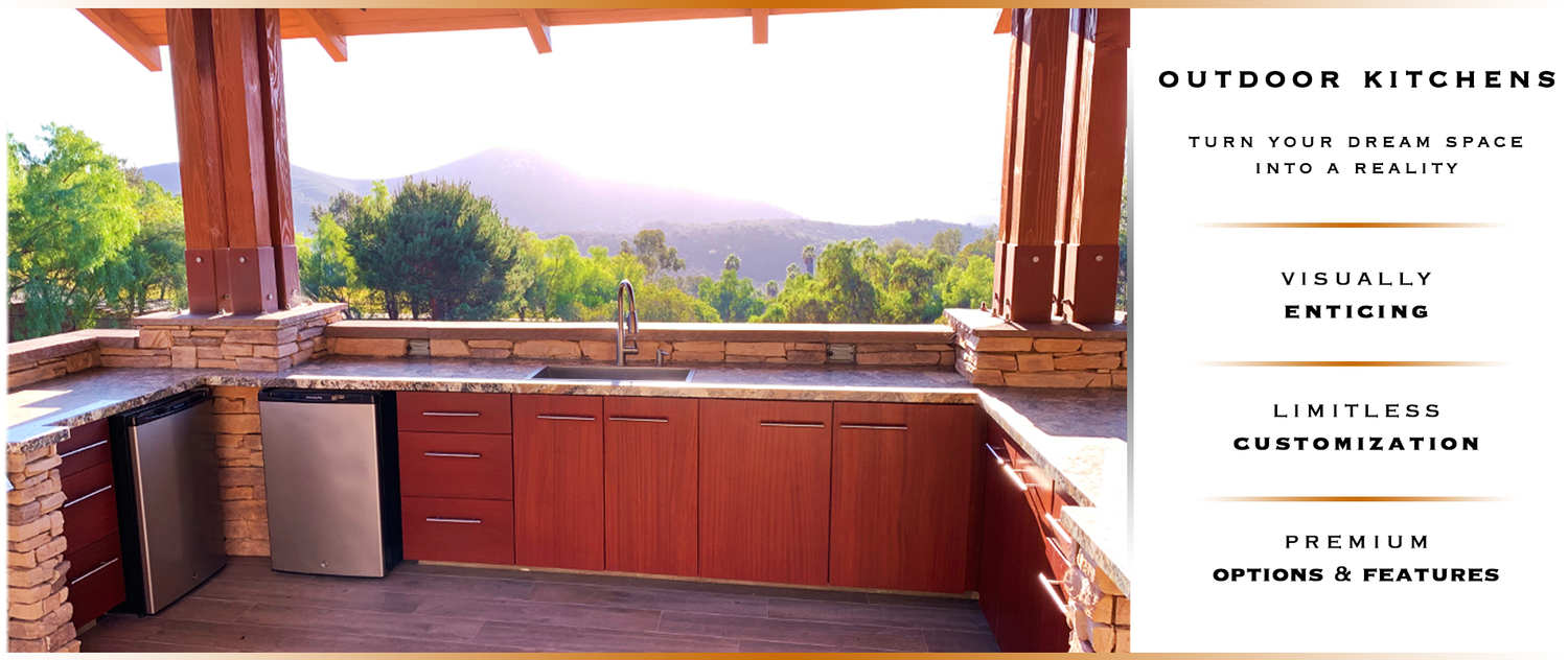 outdoor kitchens copper stainless steel sinks