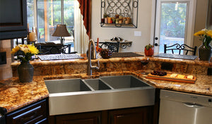 Custom stainless steel sinks handcrafted in the USA by Havens Metal.