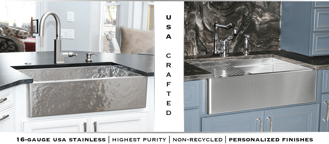 Undermount Stainless Steel Sinks | USA Crafted - Havens Metal