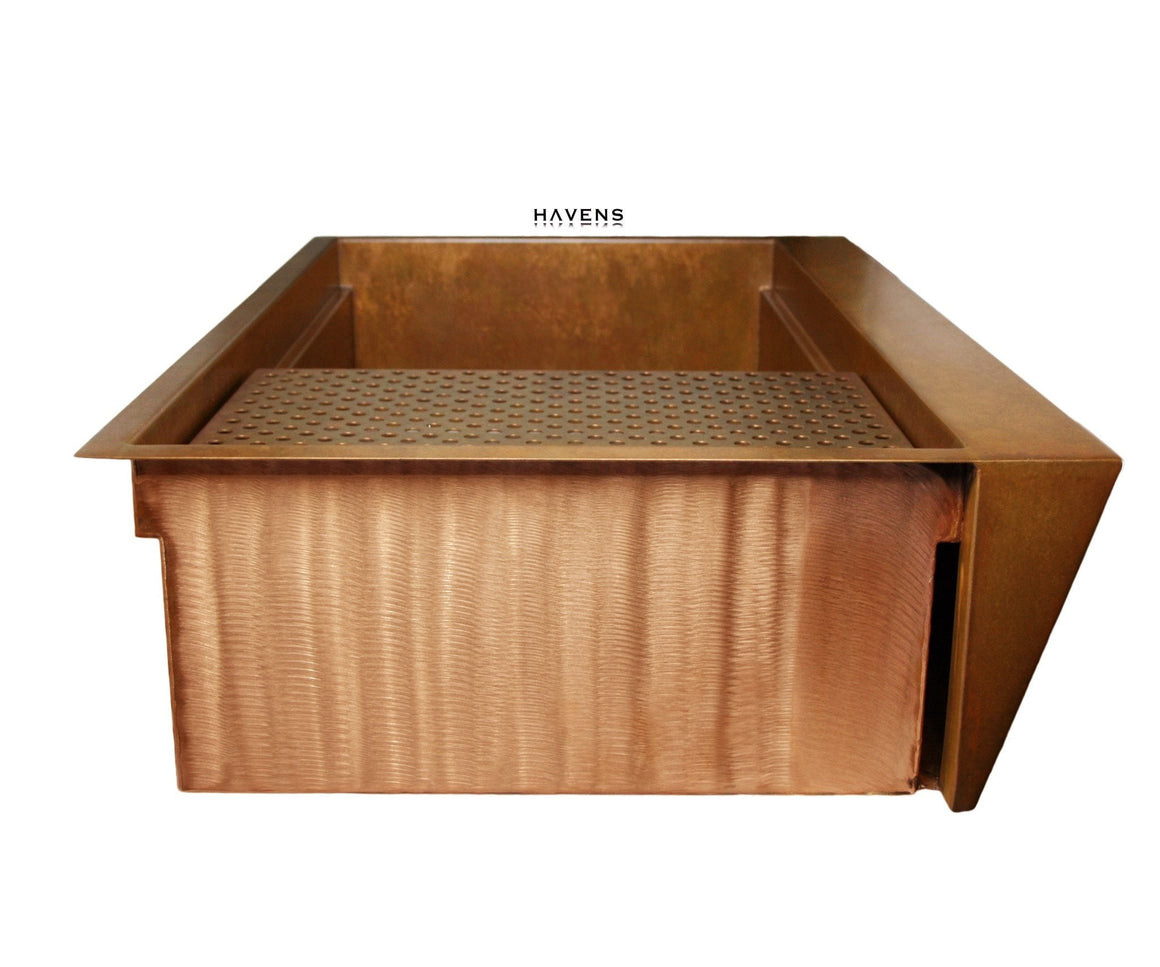 USA Copper Kitchen Sink