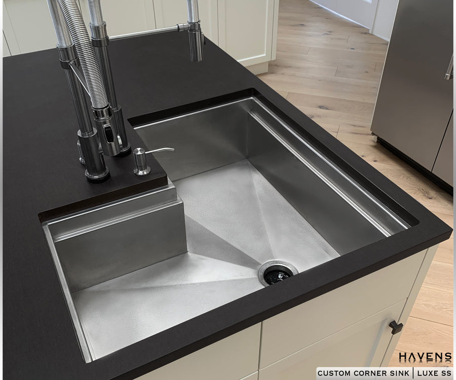 Build a Corner Sink - Stainless