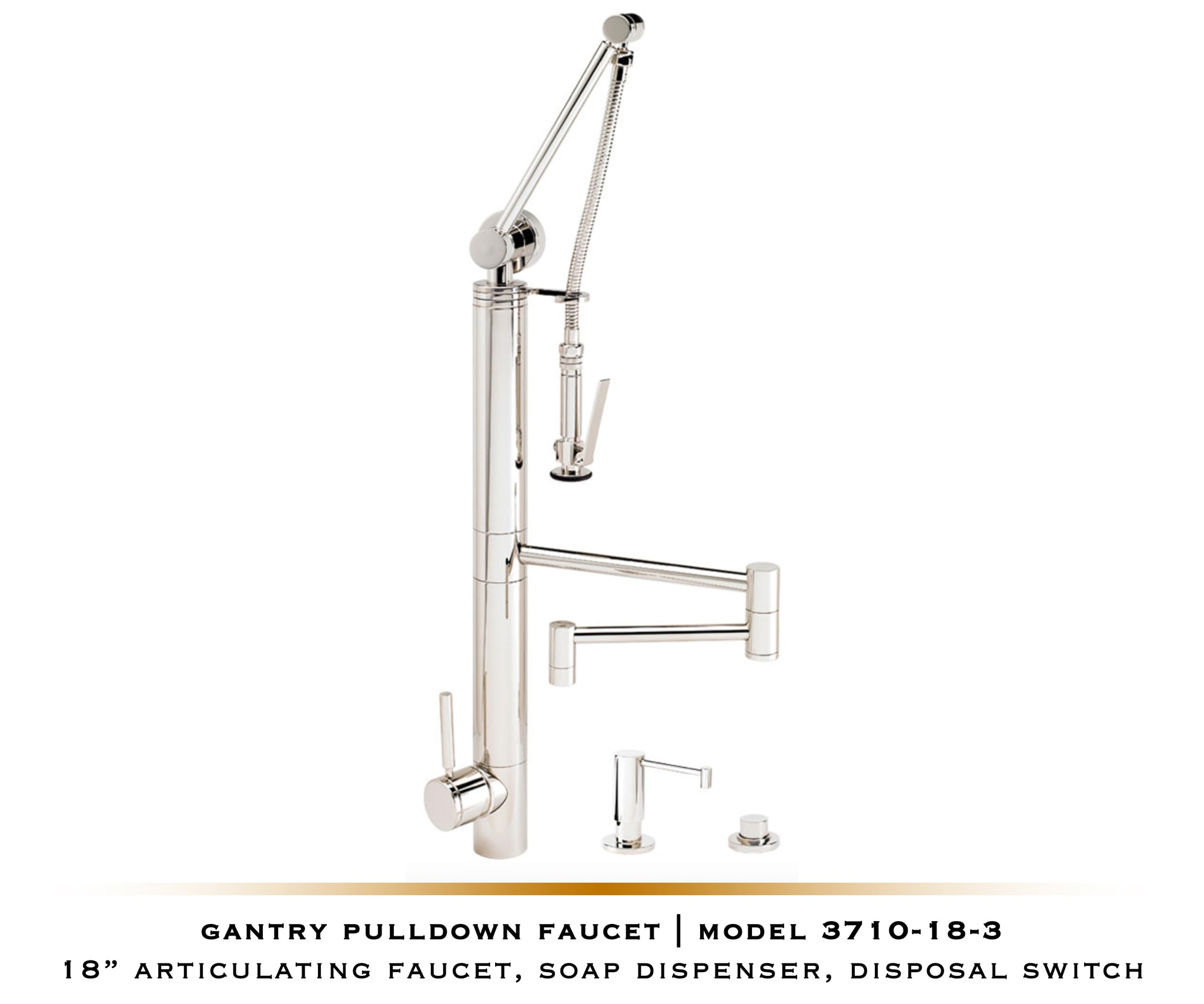 Gantry Pulldown Waterstone Faucet | Contemporary 3700 / 3710
