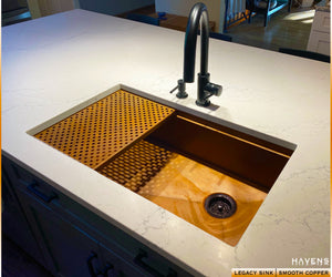 Legacy Undermount Sink - Copper